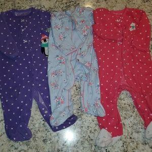 3 pajama set 9 months